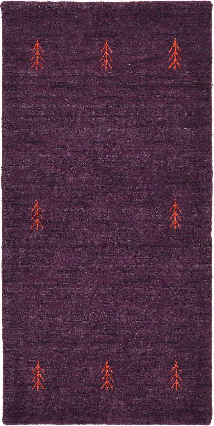 Purple 2 3 X 4 8 Indo Gabbeh Rug Area Rugs Erugs