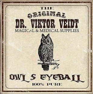 .owls eyeball label