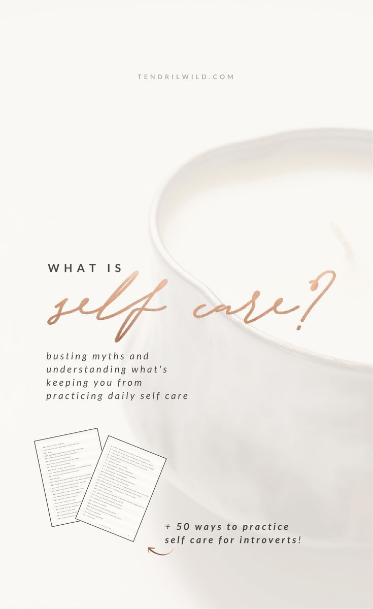 What is self care? Self care is taking time for yourself when your mind is telling you to do other stuff, putting yourself first, and loving yourself.