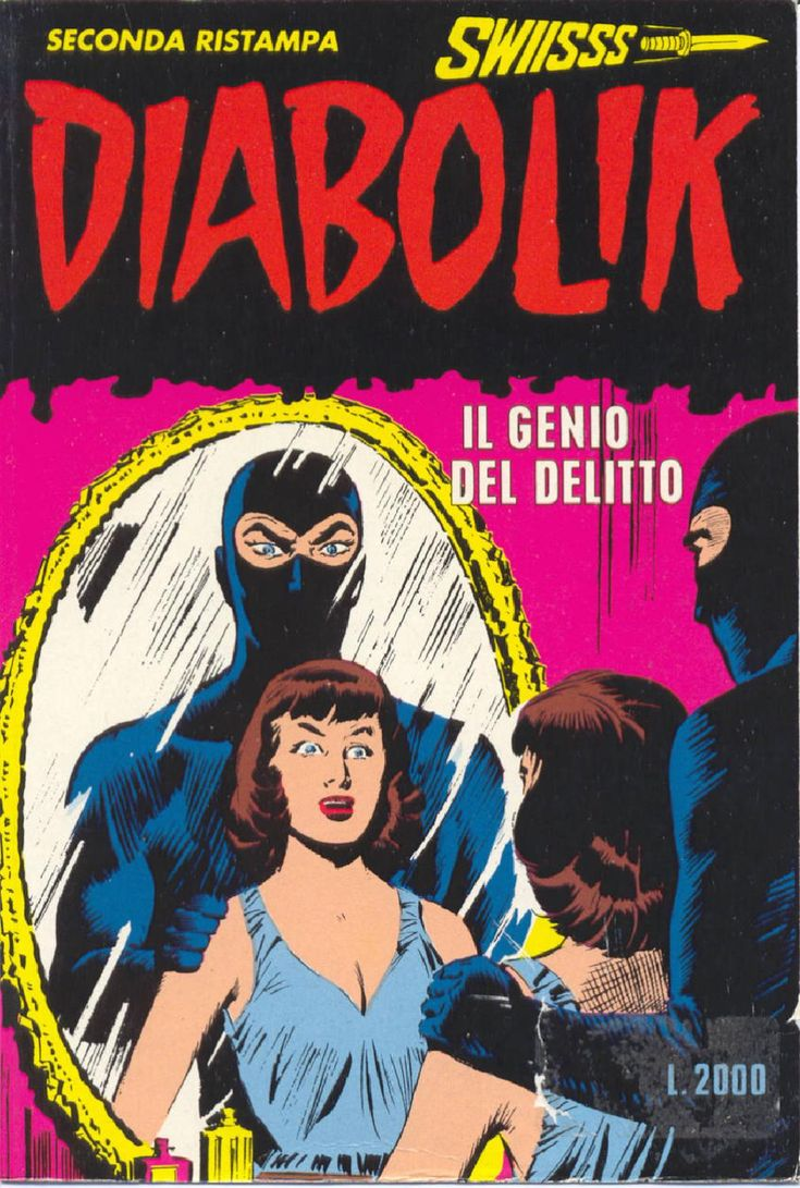 Diabolik-Il genio del delitto No Description