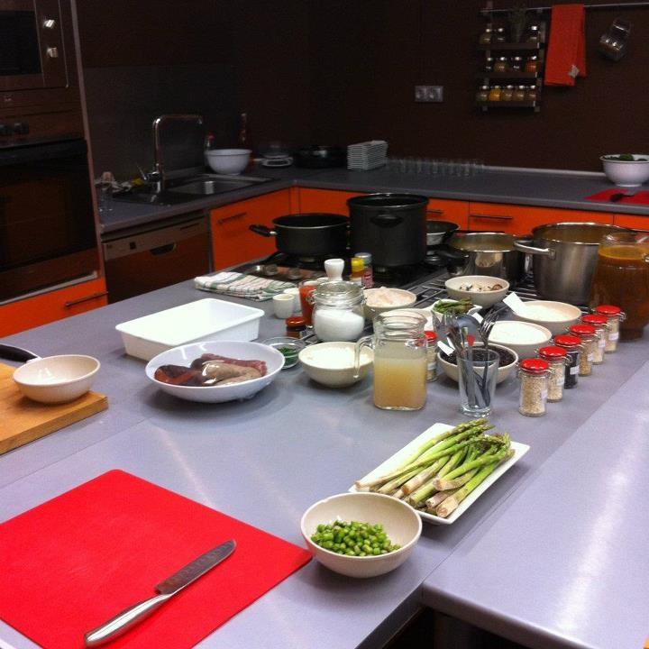Escuela de cocina Sabores. www.tallerdecocinasabores.es