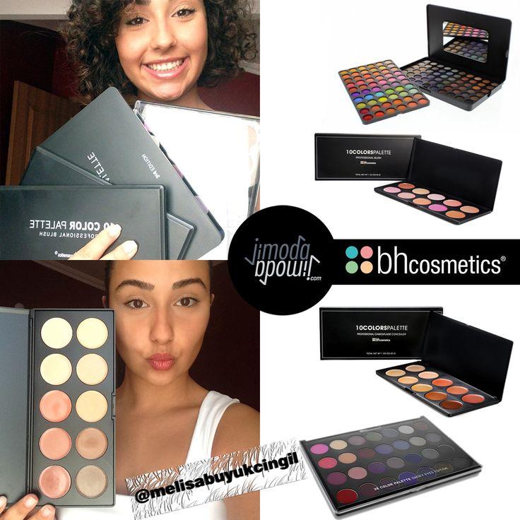 Makyaj Bloggerı Melisabuyukcingil #BhCosmetics ürünlerimiz ile!   #Jimodacom #Bhcosmetics #makyaj #makeup #kozmetik #bakım #ootd #blogger #bblogger -   BH Cosmetics 120 Color Eyeshadow Palette 3rd Edition,  BH Cosmetics 10 Color Professional Blush Palette,  BH Cosmetics 10 Color Camouflage and Concealer Palette,  BH Cosmetics 28 Color Smoky Eye Palette