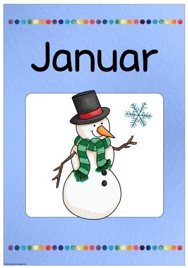 """Monatsplakat """"Januar""""   Auf Wunsch gibt es nun das aktuelle Monatsplakat auch auf Deutsch. Das Februarplakat kommt dann im Lauf der neuen..."""