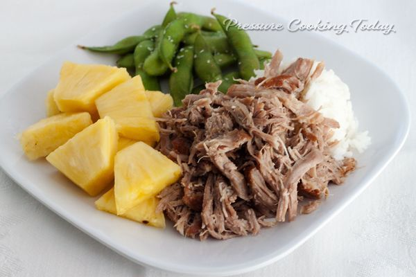 Pressure Cooker Kalua Pork, such AMAZING recipes from Maui. I hope it tastes a little like it did then..