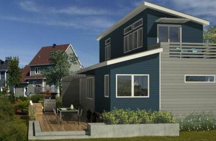 11 best fabricated homes images on pinterest for Modern prefab homes mn