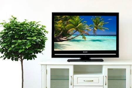 Televisione LCD Sharp da 40 pollici colore nero, modello LC-40SH340EV,  € 399.00 con spese di spedizione gratuite per consegne in tutta Italia