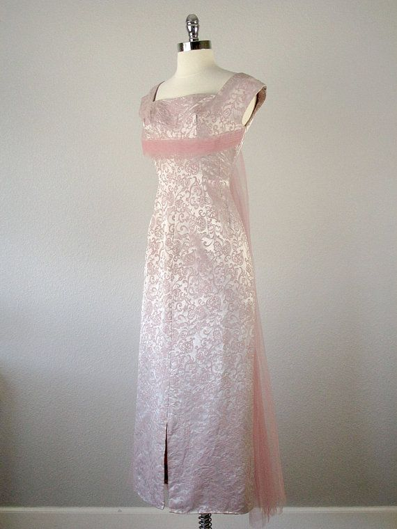1950s Gown 1950s Dress Old Hollywood Glamour Dresses by bloombird