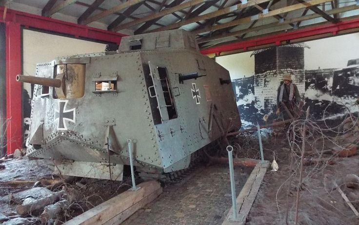 Sturmpanzerwagen A7V 1916 Panzer Museum Munster