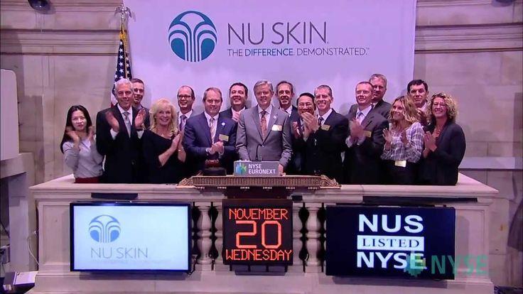 Nu Skin Enterprises Marks Record Growth - 2013 NYSE Bell Ringing