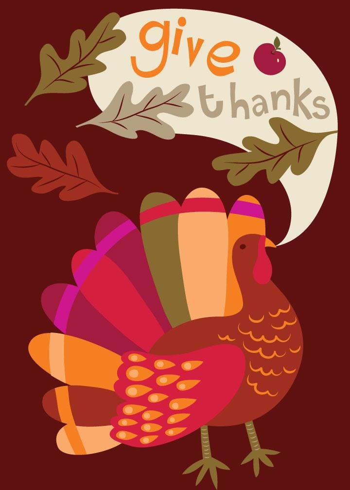 Thanksgiving Turkey Victoria Johnson Design