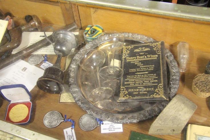 Best's Wines Great Western has some of Henry Best's original diaries and memorabilia on display. #grampians