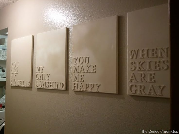 Foam Letters Wall Decor : Best images about wall art on handprint