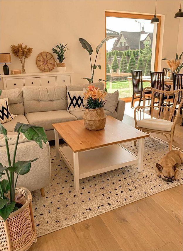 Home Tour F O C U S On Neutral Colours To Create A Relaxing Bohemian Scandanavian Interiors Living Room Relaxing Living Room Leather Living Room Furniture