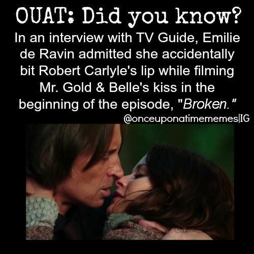 OUAT: did you know? Lol! That's hilarious! XD