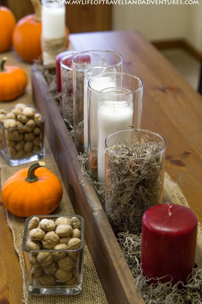 17 best images about fall decor on pinterest pumpkins Cheap thanksgiving table setting ideas