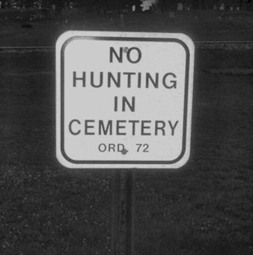 "Those pesky vampire and zombie hunters! -- or else it's ""Sanctuary! Sanctuary!!"""
