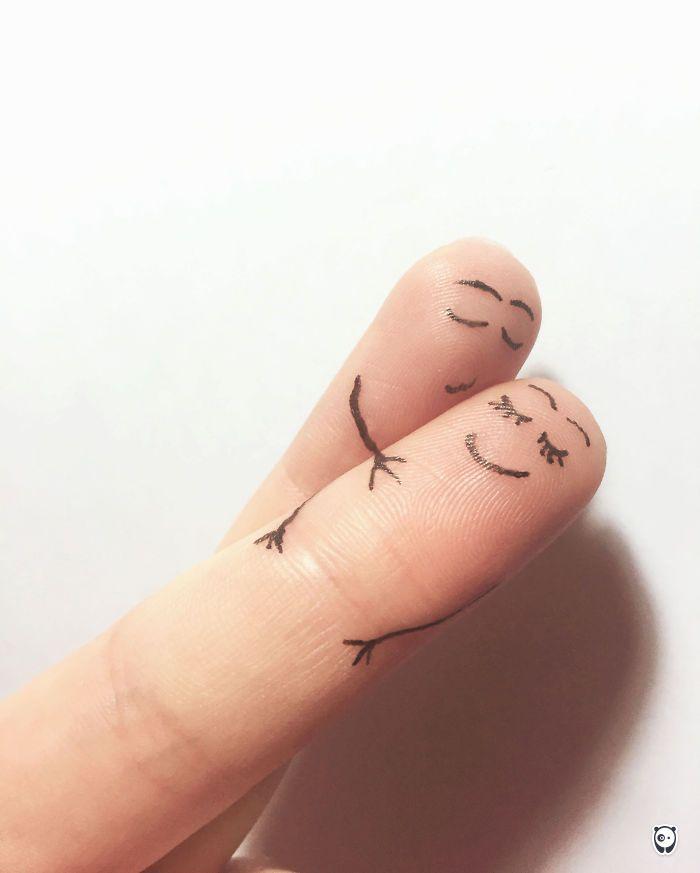 1000 id es propos de tatouages coeur au doigt sur pinterest tatouage du contour d 39 un coeur - Petit tatouage significatif ...
