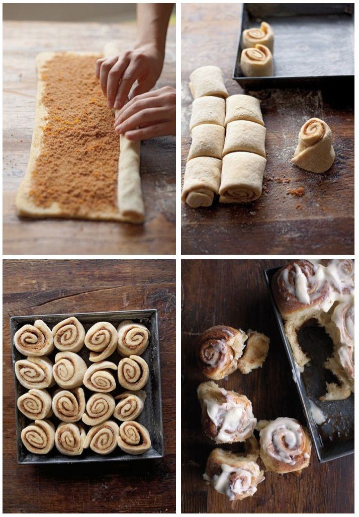 Gooey Cinnamon Rolls from Scratch.. Perfect for Holiday Breakfast #Thanksgiving #Christmas
