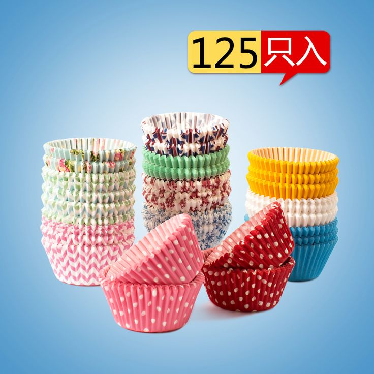 Жиронепроницаемая лоток для бумаги снег Mei Ньянг уход коробка ПИРОЖНЯ кекс кексы выпечки бумажный стаканчик 125 - Taobao