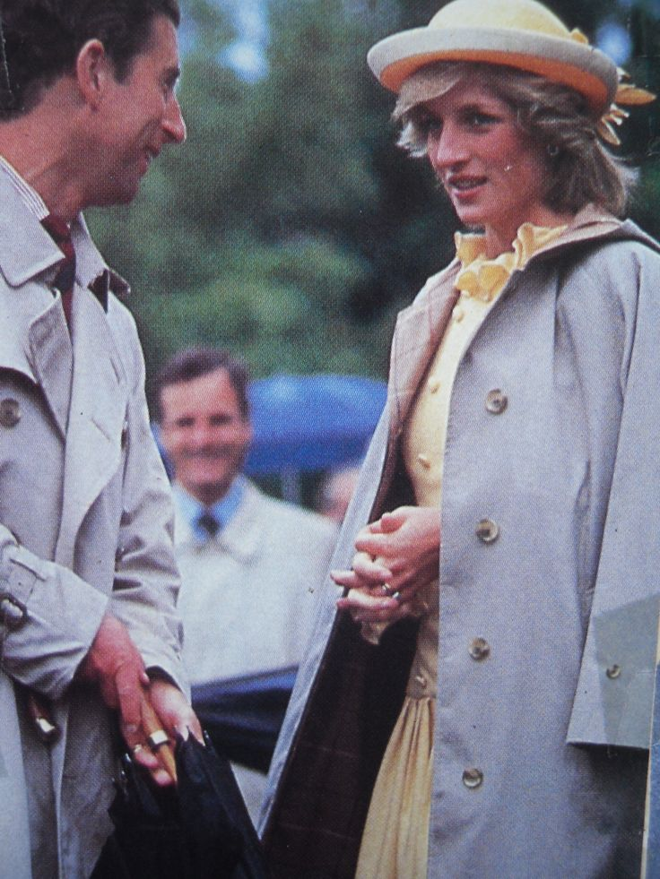 Charles & Diana .. lucky enough to see her in person many years ago.. beautiful..
