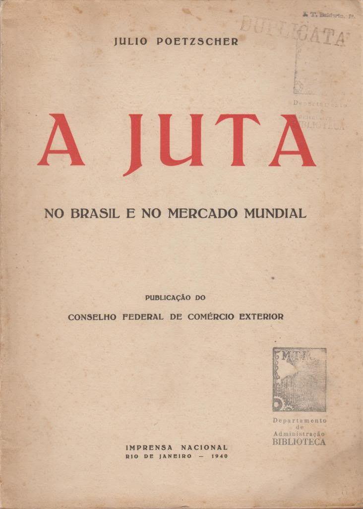 A Juta No Brasil e No Mercado Mundial