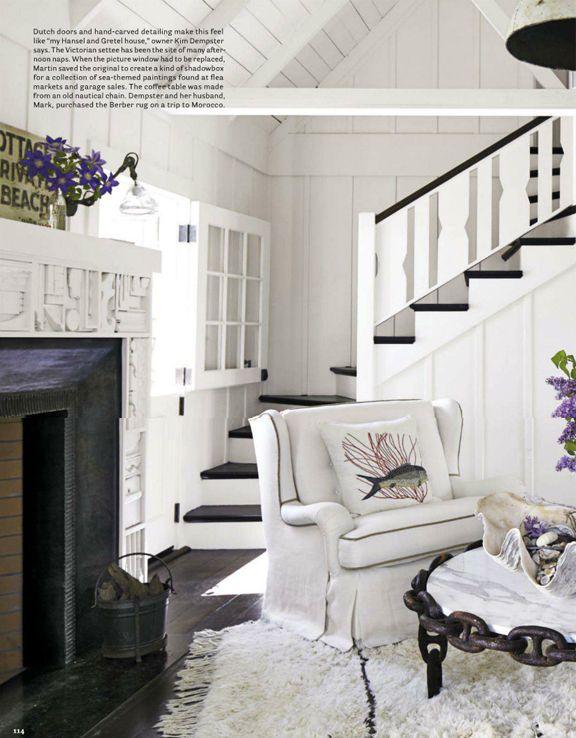 Black and white colour schemes, Erin Martin Design - Luxe Magazine Press and News