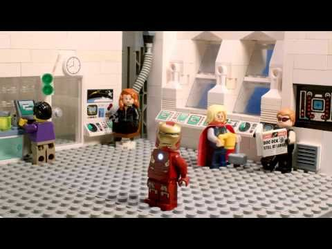 LEGO Avengers Harlem Shake - So dumb, yet I cannot stop watching and laughing!!!
