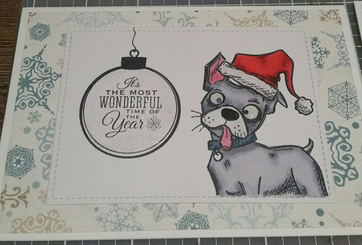 Crazy Dogs Christmas card