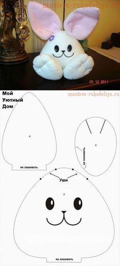 coelho-da-pascoa-com-molde-feltro-tecido