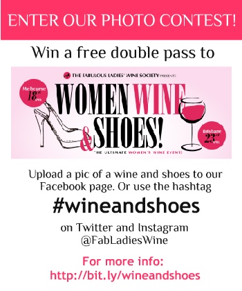 Get snapping! Show us your fave wine and shoe combinations and you could win tickets to our Women, Wine & Shoes events!