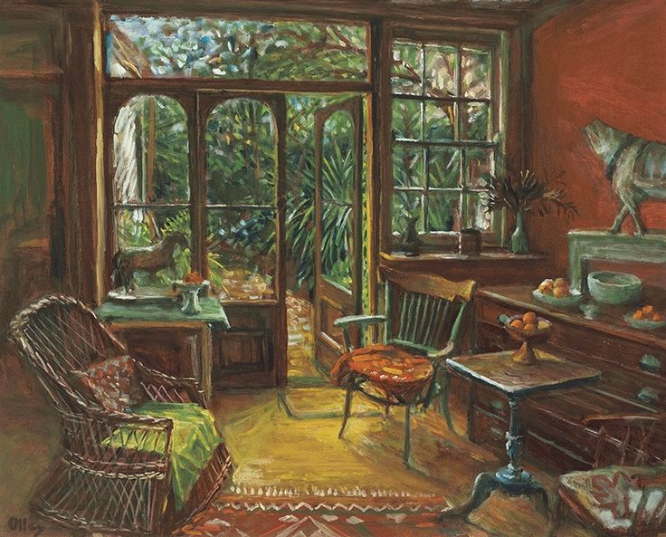 Garden room interior c1994 by Margaret Olley