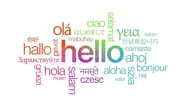 hello in so many of languages