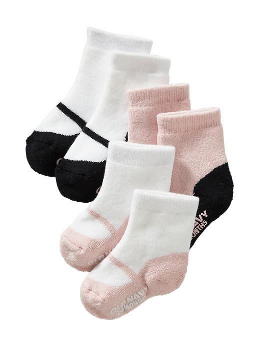 3-Pack Non-Skid Socks for Baby