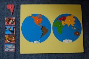 legwerkje continenten - MontessoriNet