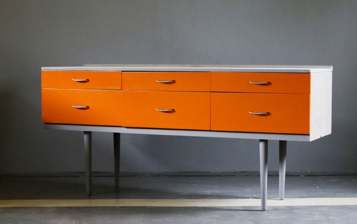 60's funky pieces of furniture!