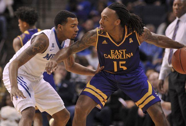 Southern Methodist vs. East Carolina - 2/1/17 College Basketball Pick, Odds, and Prediction