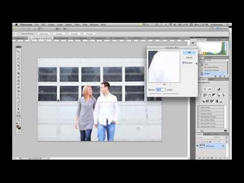 Faux T/S -Tip #46. Photoshop Gaussian Blur Effect by Vine Images