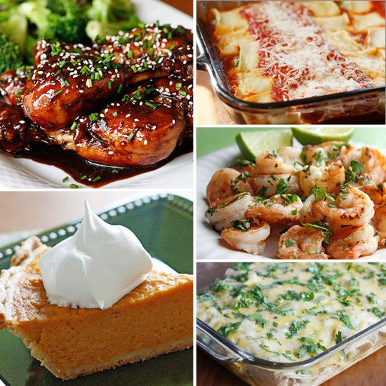 Top 20 Skinny Recipes from 2010