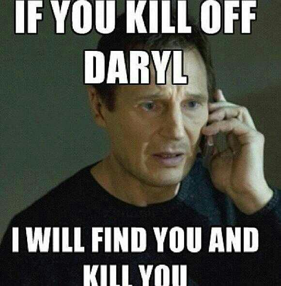 Surprisingly ( your all gonna hate me for this. ) i really dont care if daryl di