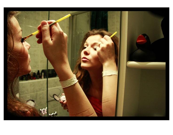 Photo by me. Photo: Diána Rigó #morning #Makeup #beauty