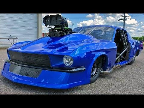 Fletcher Cox and his team recently unveiled their new Radial Vs the World car and this time it is an outstanding Racecraft Inc. built 1967 Ford Mustang! – CemLevent