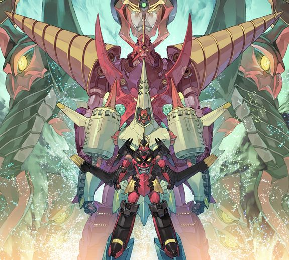 The many forms of Gurren Lagann - by You Yoshinari