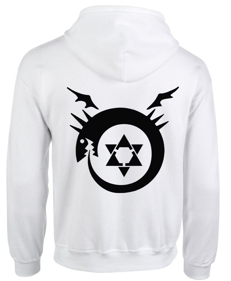 Fullmetal Alchemist Homunculus Hoodie Coat Animation Comic Cosplay Fashion