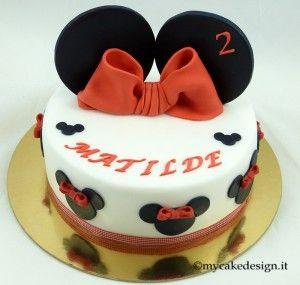 Di Paola - Polvere di Zucchero (Tutor) sito: www.polveredizucchero.com  Una torta semplice ma d'effetto.. è molto carina per le bambine! Oggi vi mostrerò come realizzare una torta con le orecchie di Minnie in pasta di zucchero