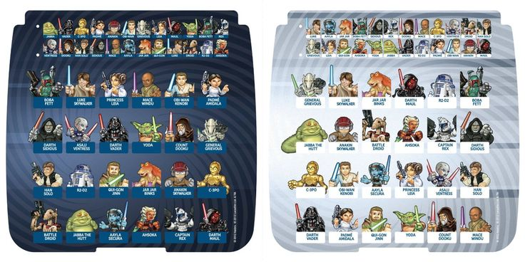 Hasbro Guess Who Character Sheets Printable