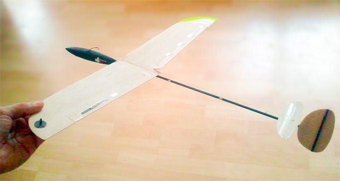 Micro Flingshot Mini Dlg Rc Glider Hand Launch