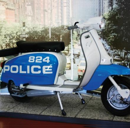 Lambretta 150 S Police NY