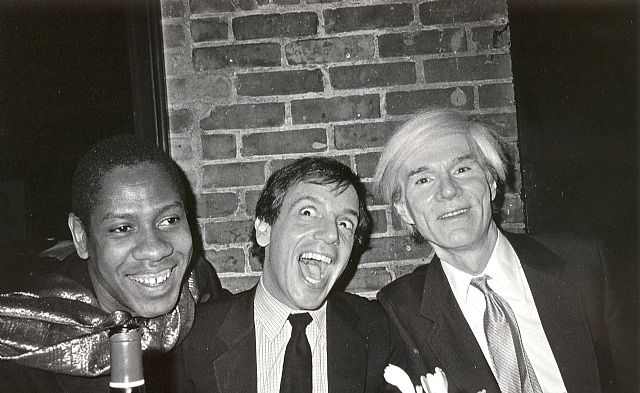 Andre Leon Talley, Steve Rubell, et Andy Warhol