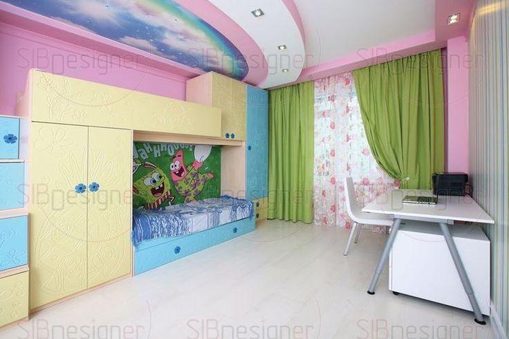 Дизайн детской интерьер детской комнаты фото - СибДизайнер.ru