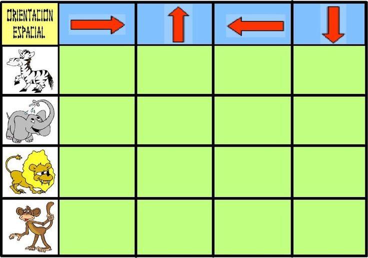 Kies de goede richting 1 spelbord, free printable